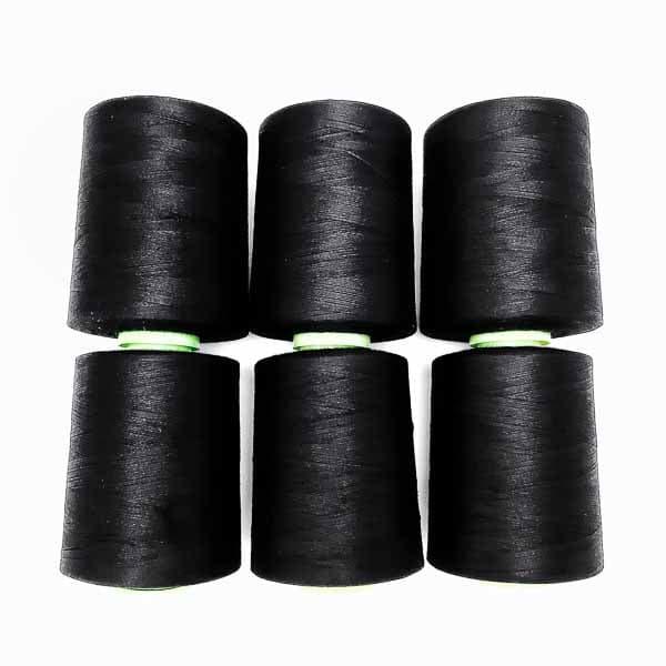 нитка Ekospun № 36 черная