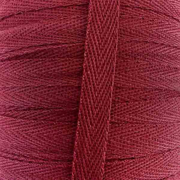 тесьма киперная х/б 10 мм вишневая 5058
