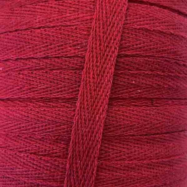 тесьма киперная х/б 10 мм красная 5053