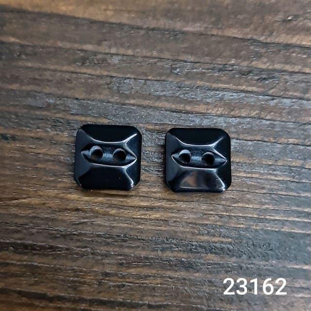 Пуговица рубашечная чёрная, 11.5 мм