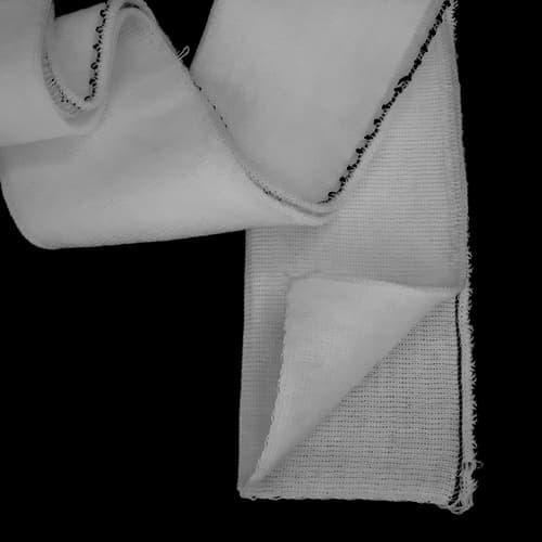 Резинка манжетная довяз, белая