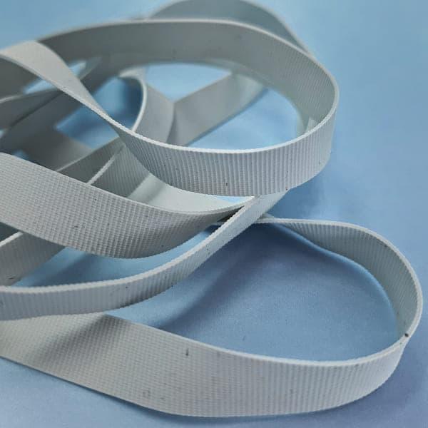 Резинка для купальника белая, 8 мм