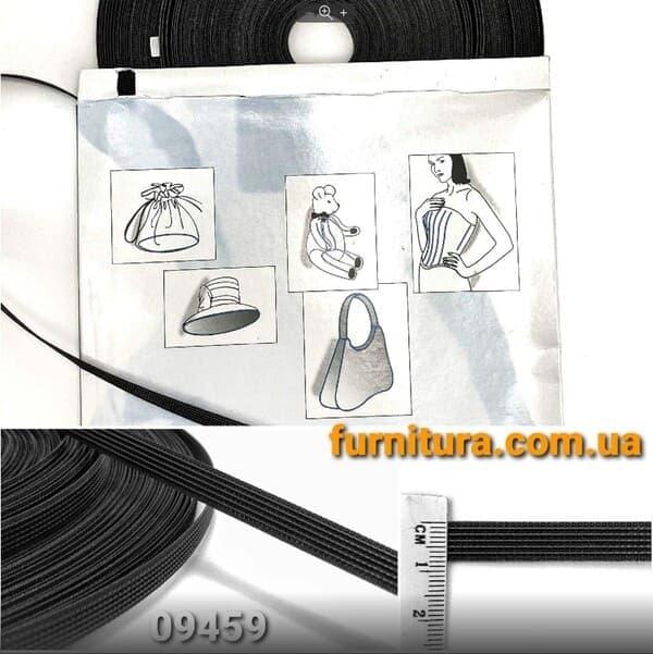 регилин  черный, 8 мм
