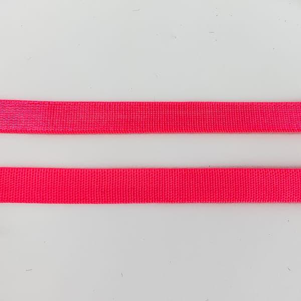 Резинка для бретель розовый неон, 1 см