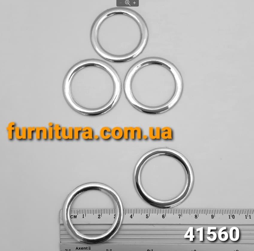 Кольцо литое, 30 мм, никель