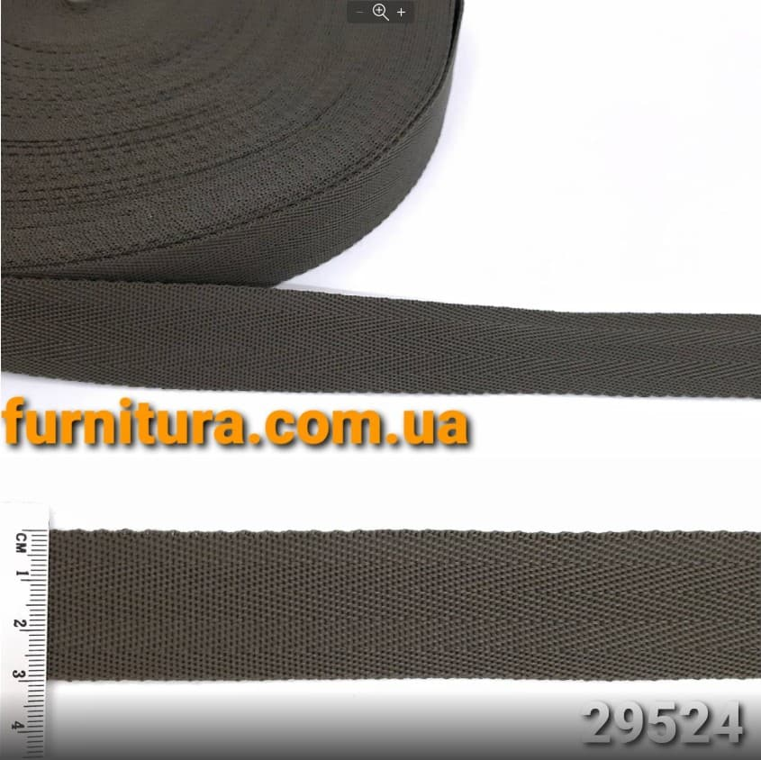 стропа ёлочка -хаки, 3 см