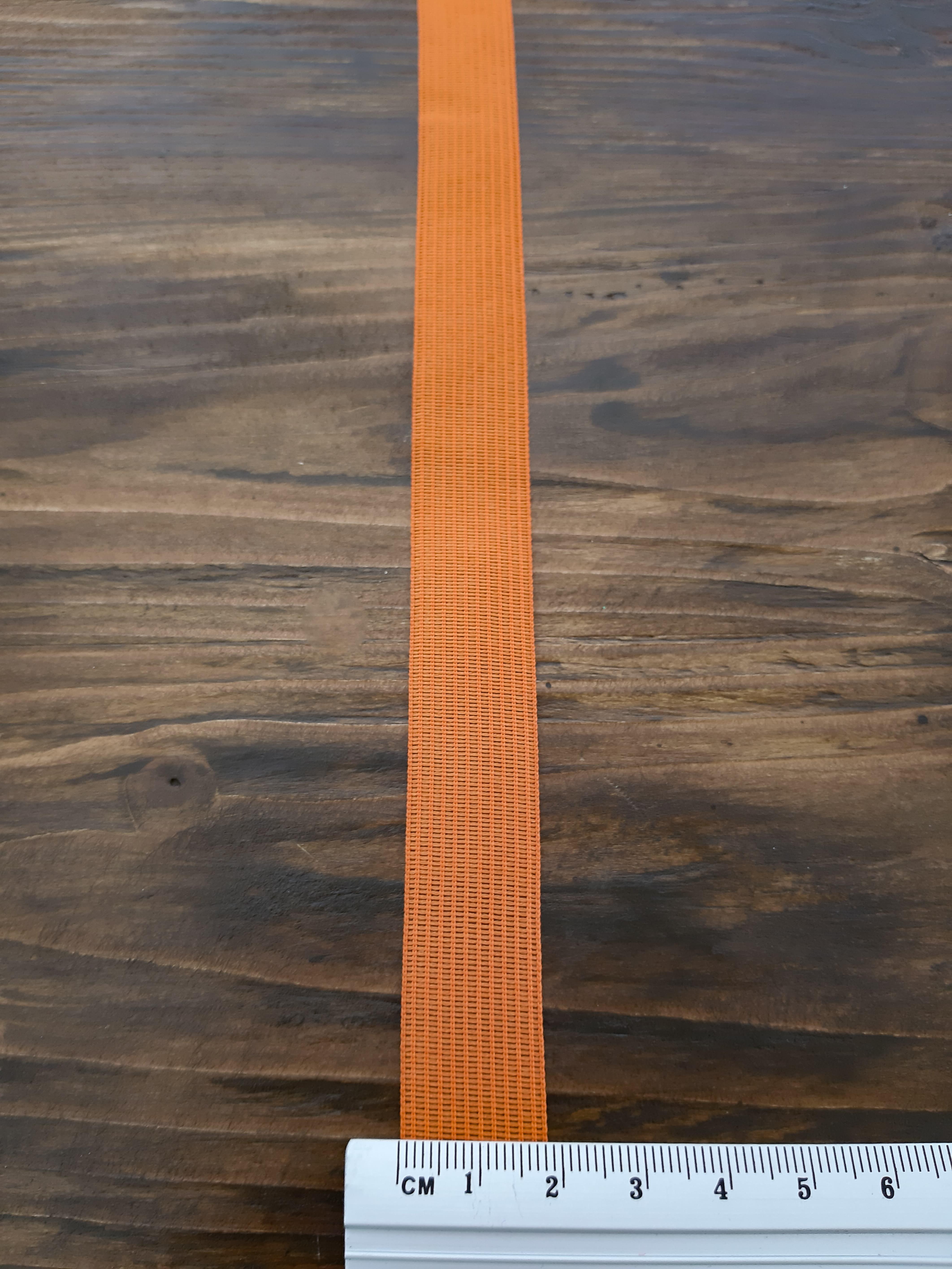 тесьма метиновая  18/2 мм цветная, в боб 50 м