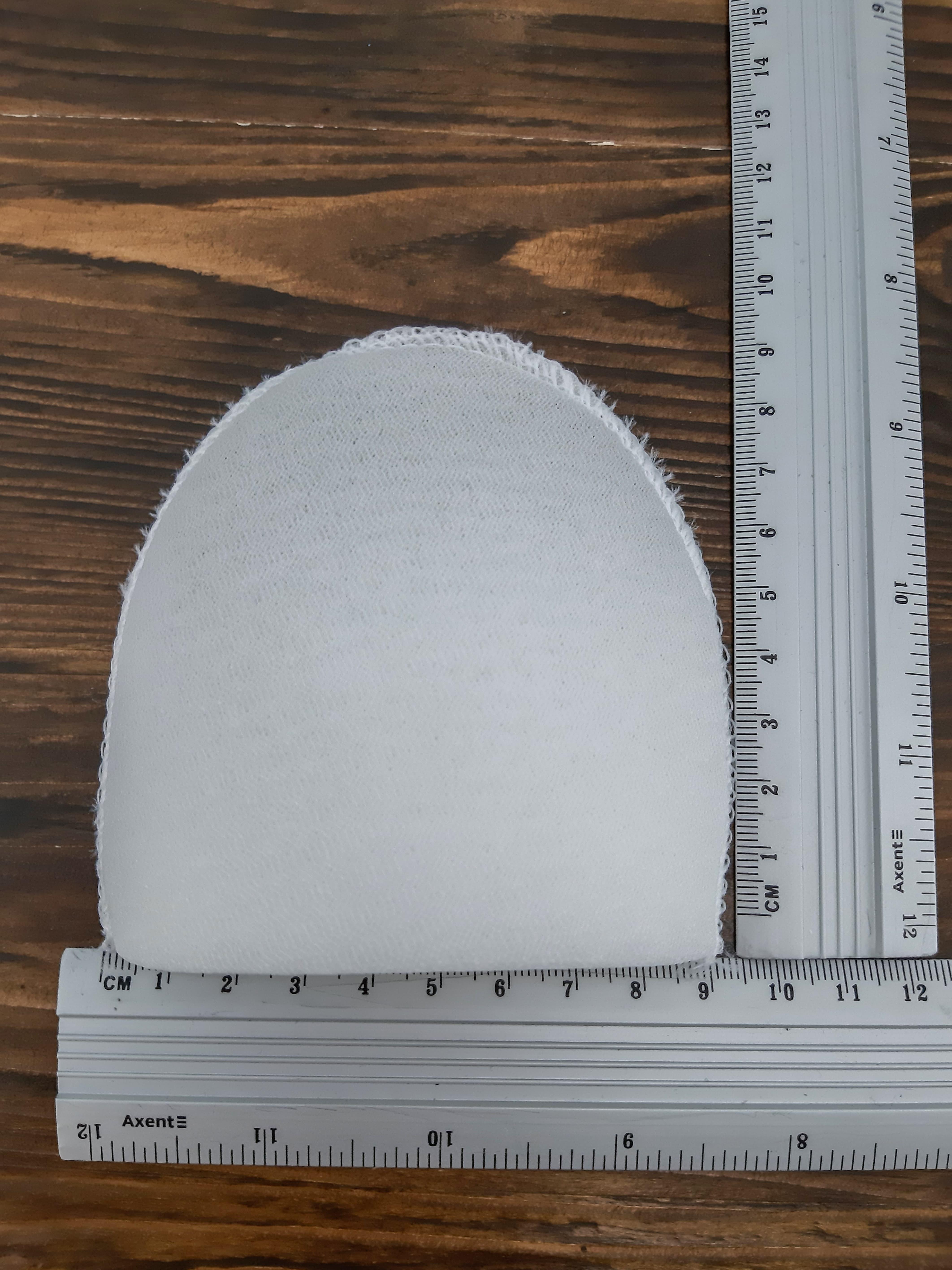 плечики  маленькие белые с сеткой -50 пар