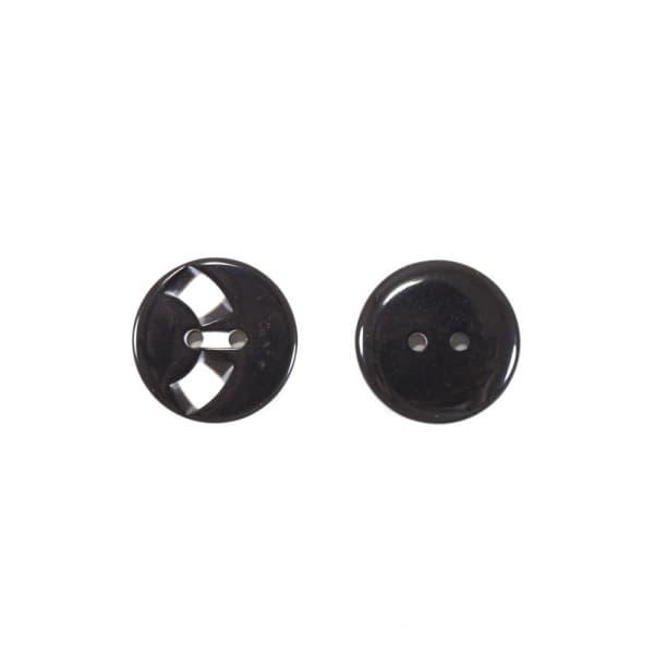 Пуговица черный, 23 мм