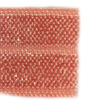 Резинка бейка персиковая, 16 мм