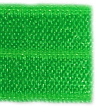 Резинка бейка зеленая, 16 мм