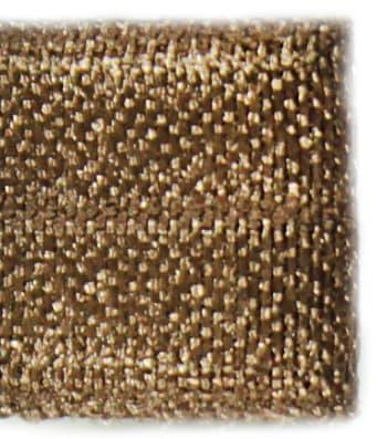 Резинка бейка бронзовая, 16 мм
