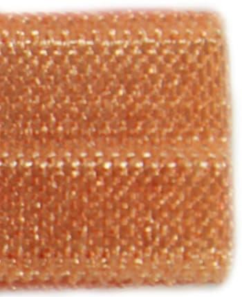 Резинка бейка рыжая, 16 мм