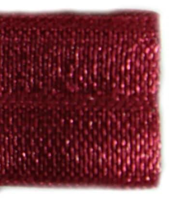 Резинка бейка темно-малиновая, 16 мм