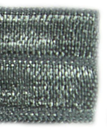 Резинка бейка серая, 16 мм