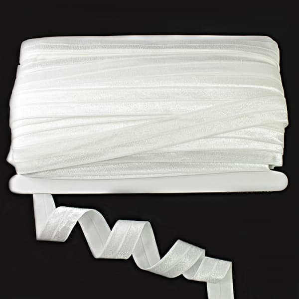 Резинка бейка белая, 20 мм