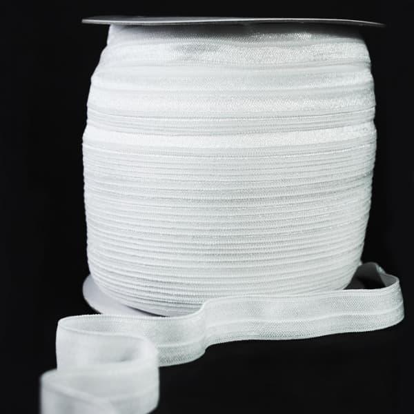 Резинка бейка белоснежная, 16 мм