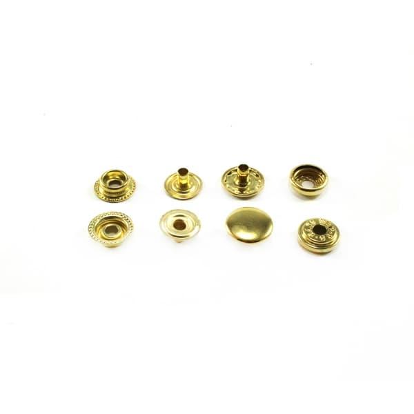 Кнопка золотая, 15 мм