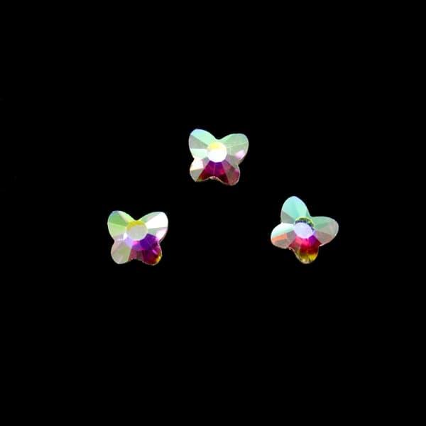 Стразы клеевые Butterfly, 6x7 мм