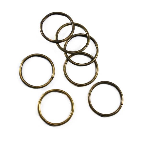 Кольцо из проволоки антик, 40 мм