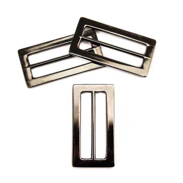 Рамка регулятор черный никель, 35 мм