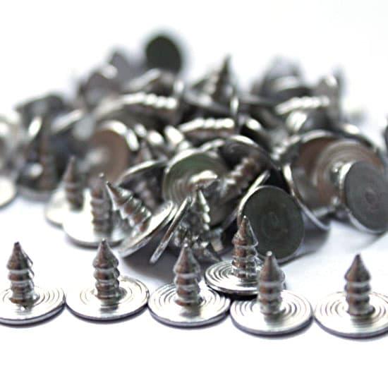 Гвозди к пуговице алюминиевые