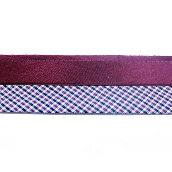 Корсажная лента (атлас) (клетка), 6 см