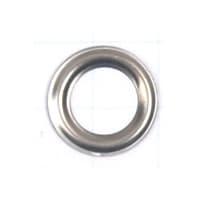 Кольцо под блочку никель, 5мм