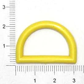 Полукольцо жёлтое, 25мм