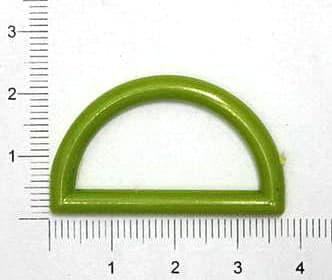 Полукольцо зелёное, 30мм