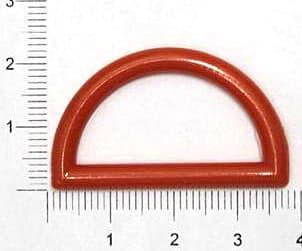 Полукольцо красное, 30мм