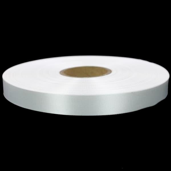 Лента для накатки Saten(сатин)  белая, 1 см