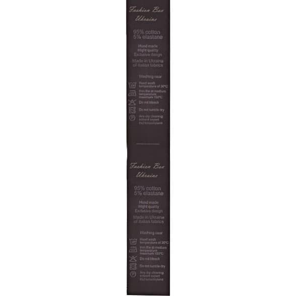 Лента для накатки Saten(сатин) черный, 4 см