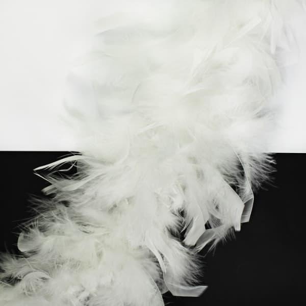 Боа пух-перо белый, 2 м