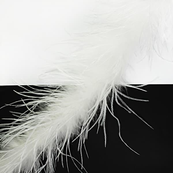 Боа пух белый, 2 м