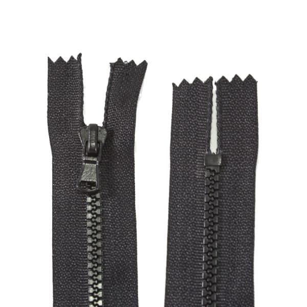 Молния Lux черная, 14 см