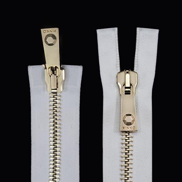Молния Lux белая+золото, 36 см