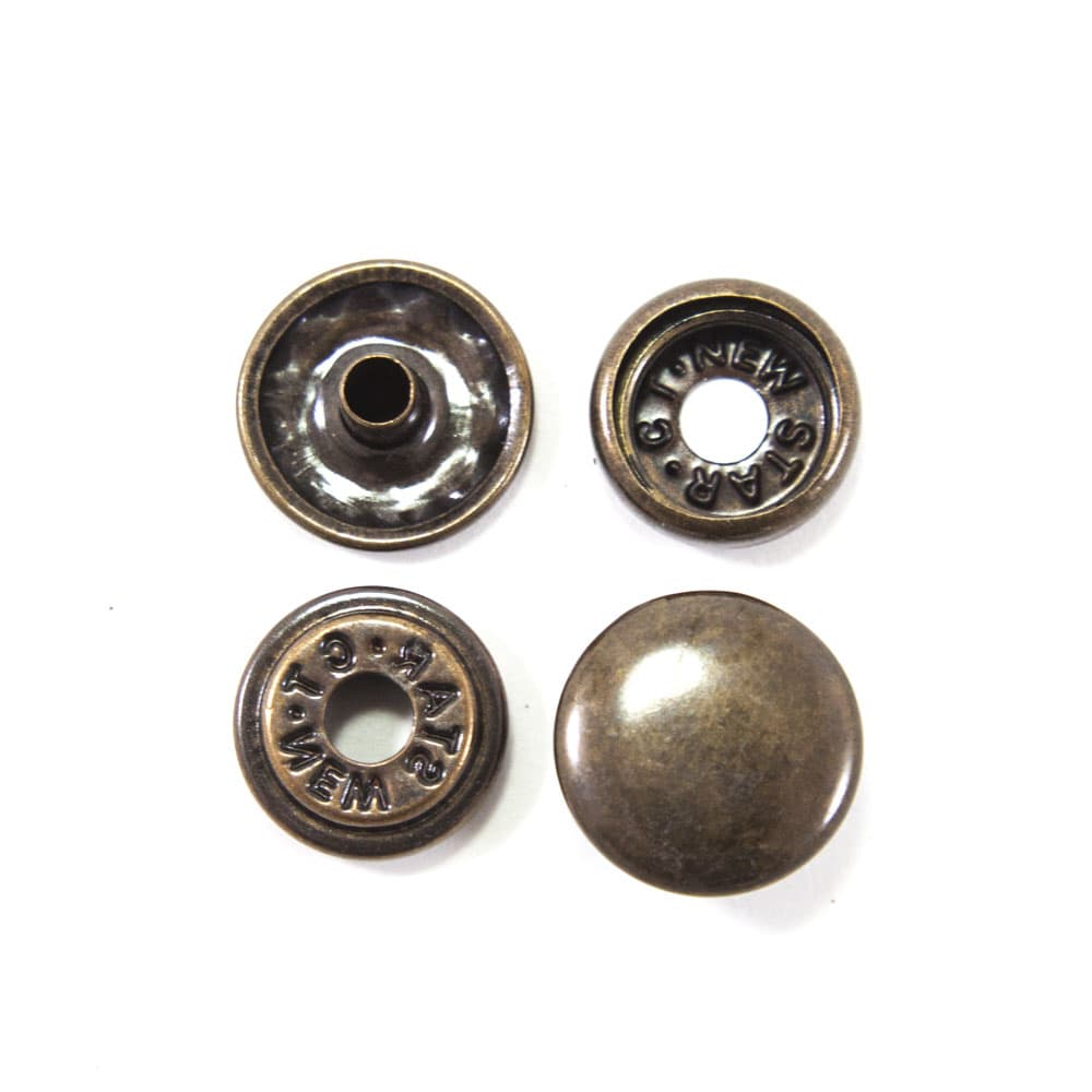 Кнопка антик, 15 мм