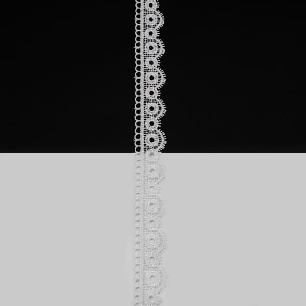 Кружево белое, 2.5 см