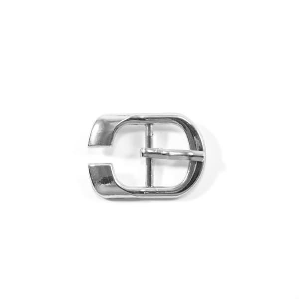 Пряжка сандальная никель, 15х25 мм