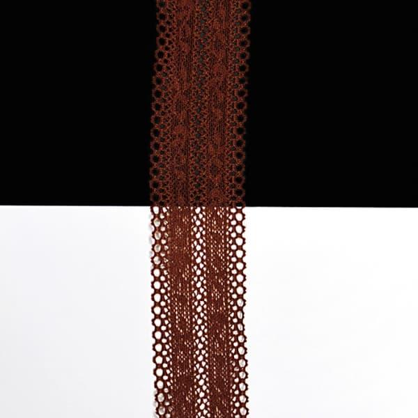 Кружево темно-рыжее, 3 см
