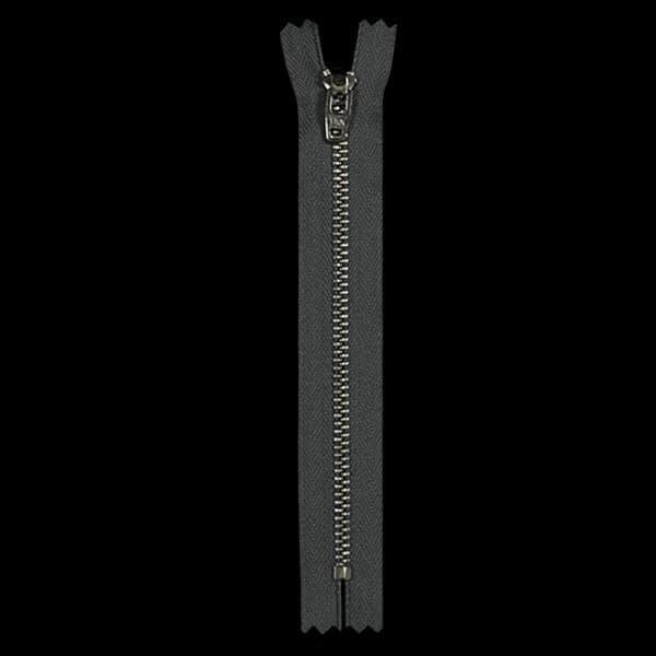 Молния YKK серая+никель,15 см