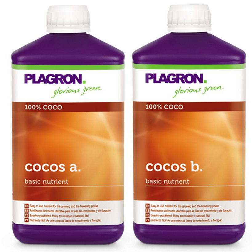 plagron cocos a+b 1л