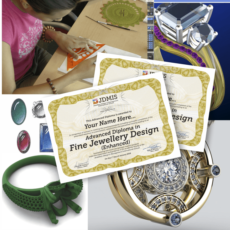 Fine Jewellery Design Advanced Diploma