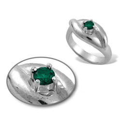 Create Simple Rings with Prong Set Gems