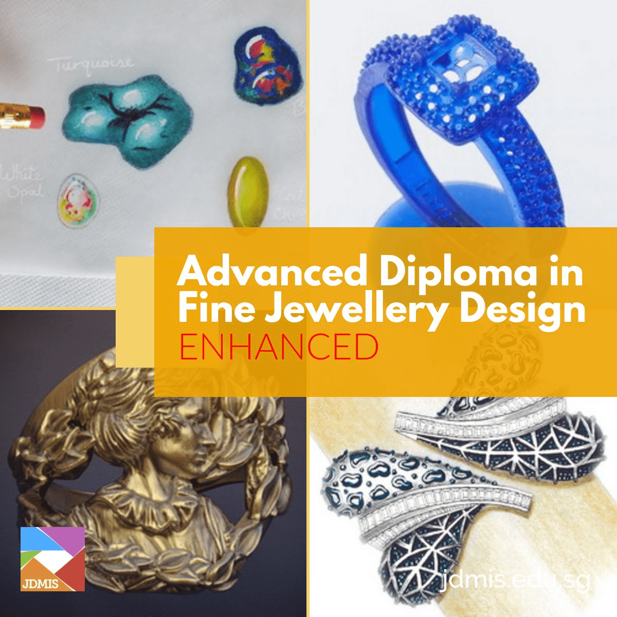 Trained jewellery designers need to understand their customers, and produce contemporary, fashionable designs, but also need to be able to confidently communicate...