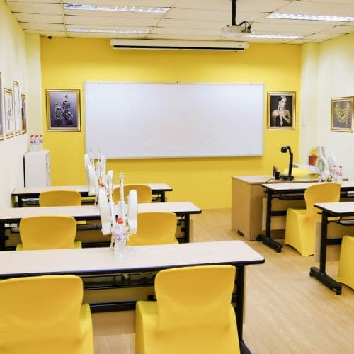 The Citrine room is especially for Traditional Design training