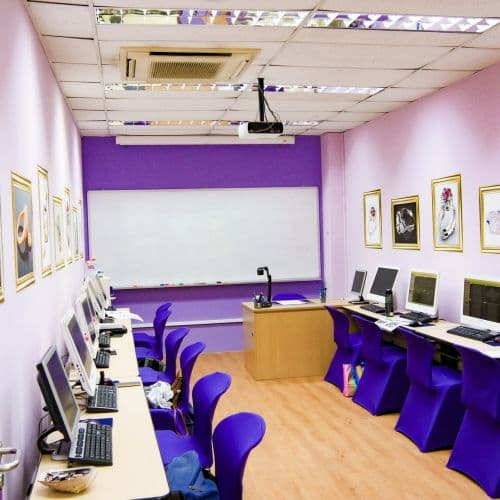 The Amethyst room is for Digital Jewellery Design; with the latest workstations and jewellery software tools