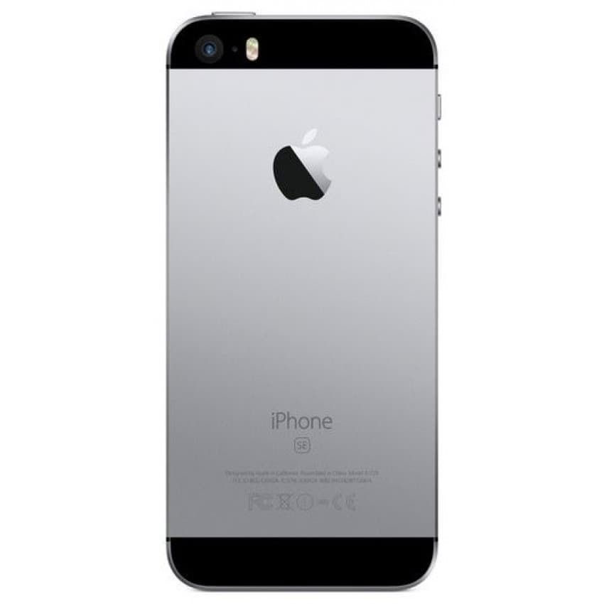 Akumulatora vāciņš iPhone SE Space Grey HQ