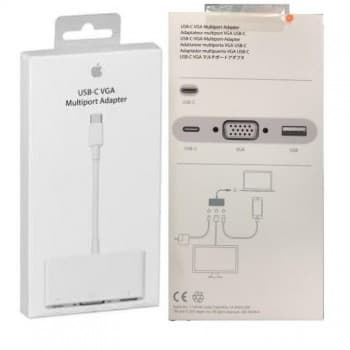 Adapter  Apple from USB-C (Type-C) to VGA/USB-C/USB (A1620) original (used Grade A) with box